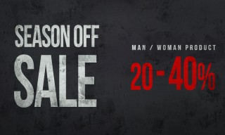 SEASON OFF SALE 20-40%